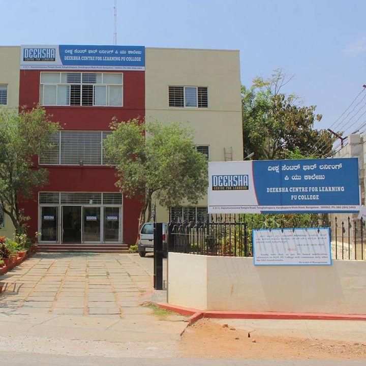 Deeksha, CFL PU College, Kanakapura Road, Bangalore